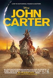 John Carter is a 2012 American science fiction adventure film co-written and directed by Andrew Stanton; adapted from the first book in the fictional Barsoom series of novels by Edgar Rice Burroughs entitled, A Princess of Mars. The film chronicles the first interplanetary adventure of John Carter, portrayed by actor Taylor Kitsch.