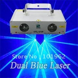==> [Free Shipping] Buy Best 600mw Double lens blue laser stage lights DMX 512 wholesale and retail Online with LOWEST Price | 1002920449