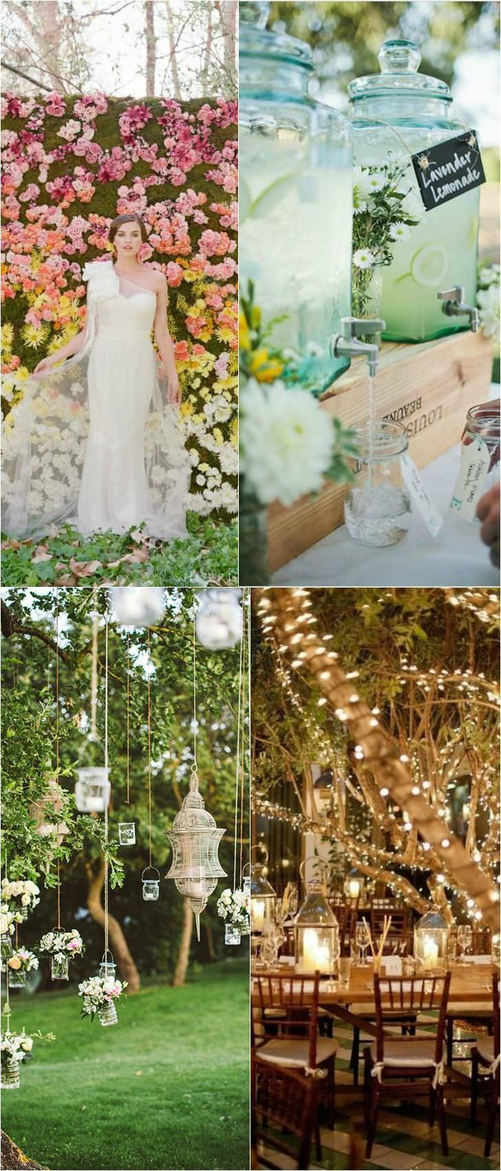 10 Shabby Chic Garden Wedding Decoration Ideas - Garden Decor -  1 – Hanging Bubble Candle Holders  source Elegant Shabby Chic Garden Wedding in Napa Valley with hanging bubble candle holders. 2 – A Romantic Wedding at Bellefield Great House in Jamaica  source 3 – Hanging Wedding Flowers  source As nature reawakes and the weather gets... #weddingdecoration