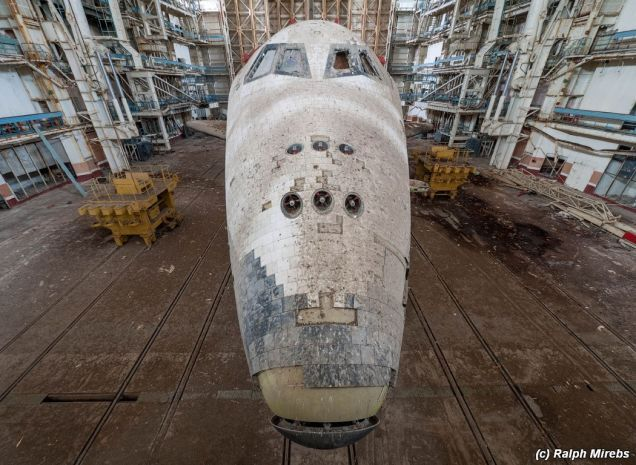 The Sad Remains of Buran and the Soviet Space Shuttle Project