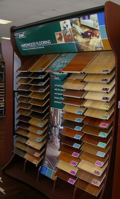 Thirtydaysofinspiration Shaw Hardwood Flooring Display
