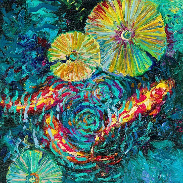 Magníficas pinturas a óleo feitas com os dedos