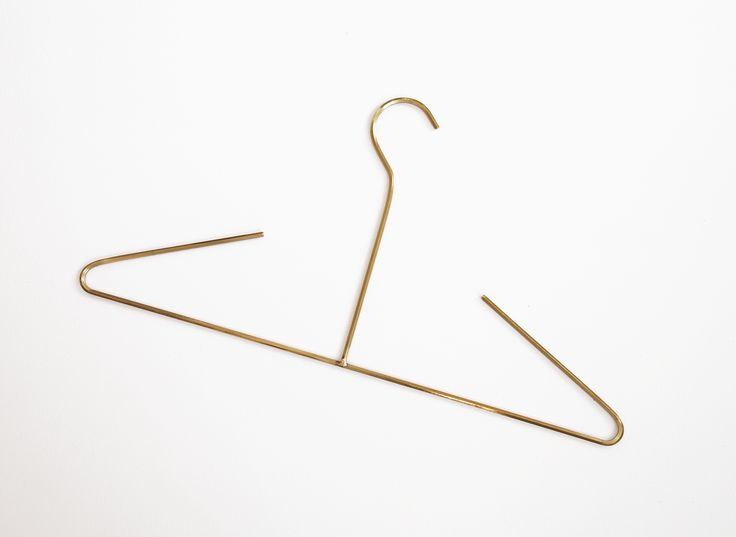BRASS COAT HANGER | Crafted by Cool Enough Studio | Warehouse Home | Unique  | Design