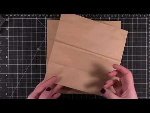 """Brown paper packages tied up with strings!"" Create folded boxes and decorations with this video tutorial!"