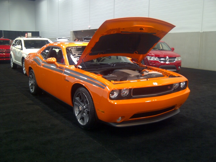Fantastic colour on this R/T Challenger!