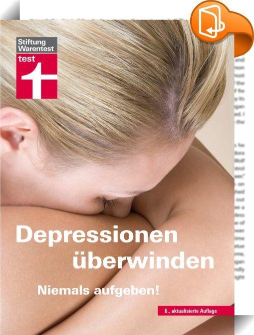 Es gibt Hilfe. Etwa jeder Zehnte leidet in Deutschland unter Depressionen. Bei vielen bleibt die Krankheit unerkannt. Ihre Symptome wie tiefe Niedergeschlagenheit, Teilnahms- und Antriebslosigkeit machen das Leben zu einer Qual. Und ohne Unterstützung gibt es kaum eine Chance, diese dunkle Phase zu überwinden. Dieser Ratgeber der Stiftung Warentest, in der 6., überarbeiteten Auflage, bietet Hilfe - den Betroffenen und allen, die ihnen nahe stehen: Depressionen können behandelt werden, und…