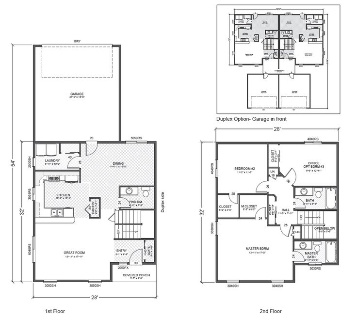 54 Best Home Plans Images On Pinterest House Floor Plans