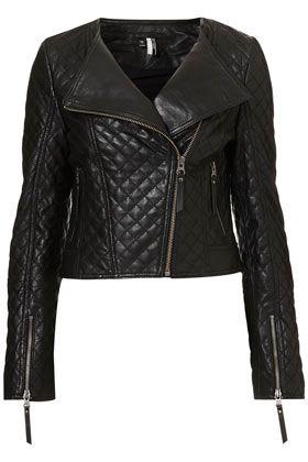 Quilted Collarless Biker Jacket: K2Obykarenko Com Leatherjacket, Biker Jackettopshop, Fashion Style, Collarless Biker, Leather Jackets, Quilted Collarless, Leather Biker Jackets, Jackets Leather