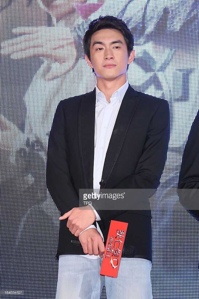Lin Gengxin attends the news conference for 'Young Detective Dee: Rise of the Sea Dragon' on Wednesday October 2,2013 in Taipei,China