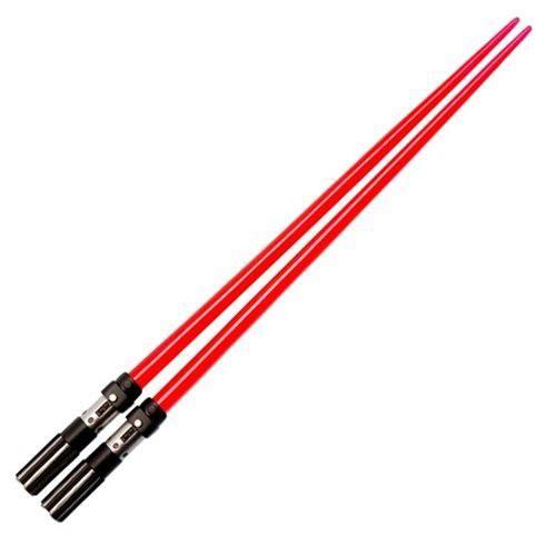 """Star Wars Darth Vader Red Lightsaber Chopsticks """"Chop Sabers"""""""