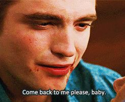 Dead. Robert Pattinson did his own dialogue for this scene. . . and I cant. His emotion.<3