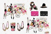 Spring Fashion Clipart - Illustrations - 3