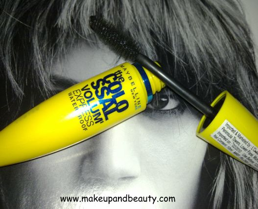 Maybelline Colossal Volum' Express Waterproof Mascara Review