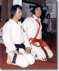 I had no idea that Elvis trained in Shotokan. Learn something new every day.