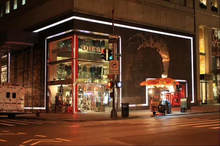 Diesel's first flagship store