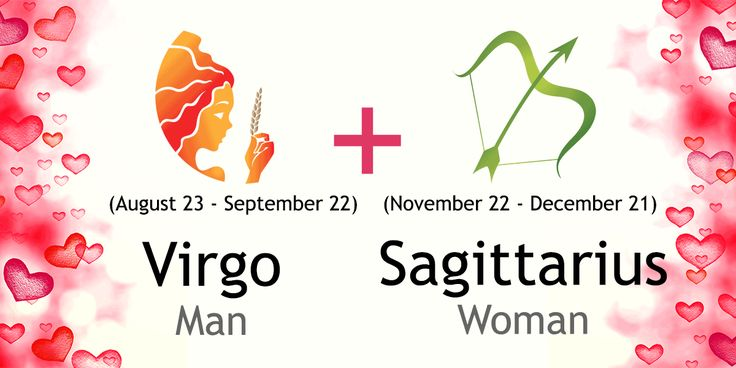 Love match compatibility between Virgo man and sagittarius woman. Read about the Virgo male love relationship with sagittarius female.