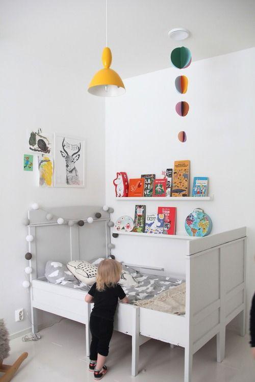 A Bright Child Bedroom in Finland