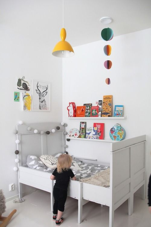 A Bright Child Bedroom in Finland - Petit & Small