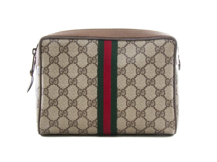 Authentic Gucci Accessory Collection vintage cosmetics bag