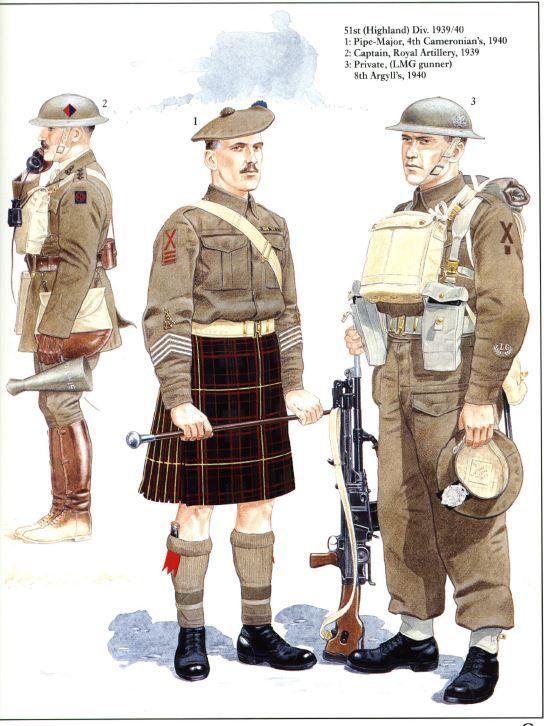 d day landings 51st highland division