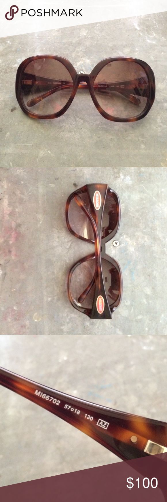 Missoni sunglasses These are boho chic Italian style. No one does relaxed chic better than Missoni. Missoni Accessories Glasses