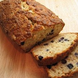 Favorite Banana Blueberry Quick Bread - Allrecipes.com