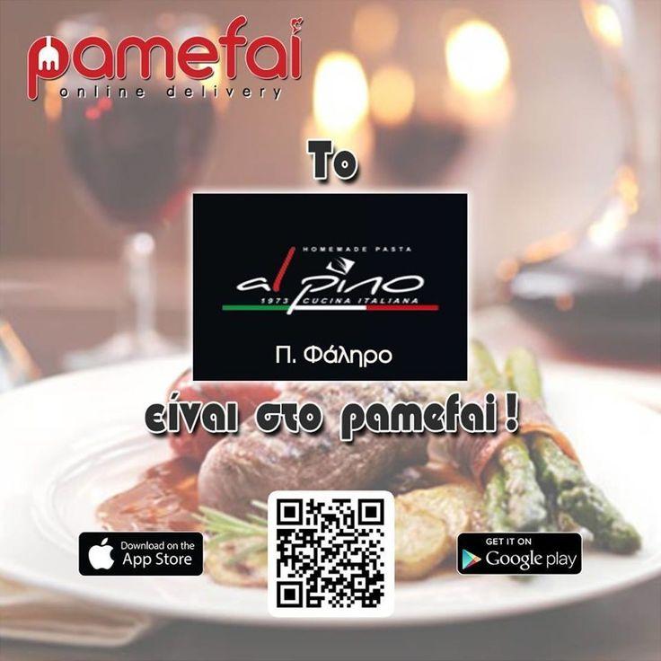 Το Al Pino (Π.Φάληρο) είναι στο Pamefai  http://ift.tt/2mKdjFm #pamefai #italiankitchen #gourmet #pizza