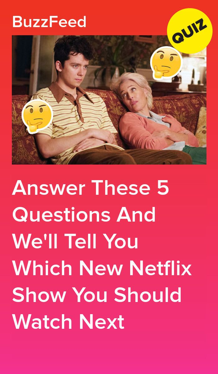 Which New Netflix Show Should You Watch Next? Shows on