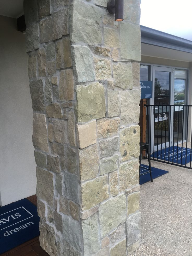 Love stonework for chimney