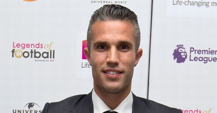 Robin van Persie receives award at Legends of Football ceremony for THAT volley against Aston Villa