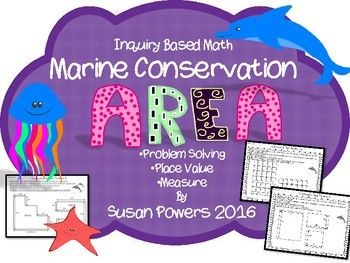 This inquiry based math packet is easy to print and go, perfect for small math groups, guided math or even homework.  It is already differentiated and therefore easy to just print and go!  I designed it for my IB PYP 3rd grade class as a part of our complete unit of inquiry about Ocean Life.