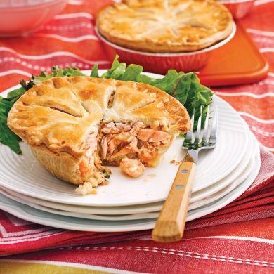 Petits pâtés au saumon et crevettes nordiques - Recettes - Cuisine et nutrition - Pratico Pratique