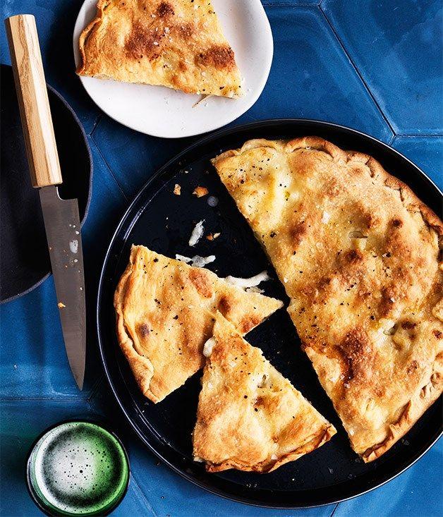 Ligurian cheese focaccia