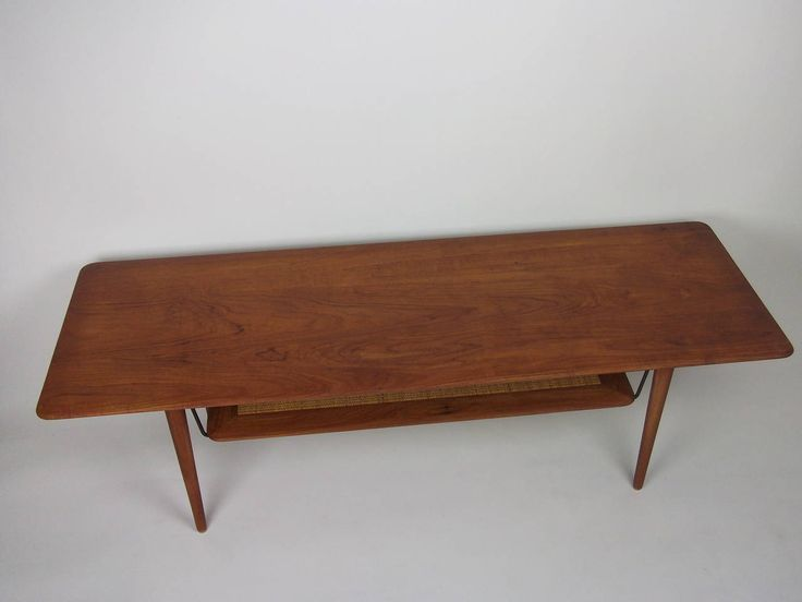 1950s Solid Teak Coffee Table Designed By Peter Hvidt U0026 Orla  Molgaard Nielsen | From