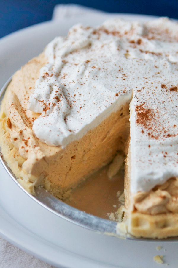 Pumpkin Cream Pie | Lauren's Latest