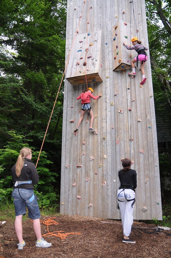 Ropes Course & Climbing Wall | Camp Tamakwa, Ontario Summer Camp