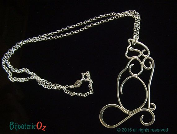 Captivating Cats in jewellery. by Michelle on Etsy