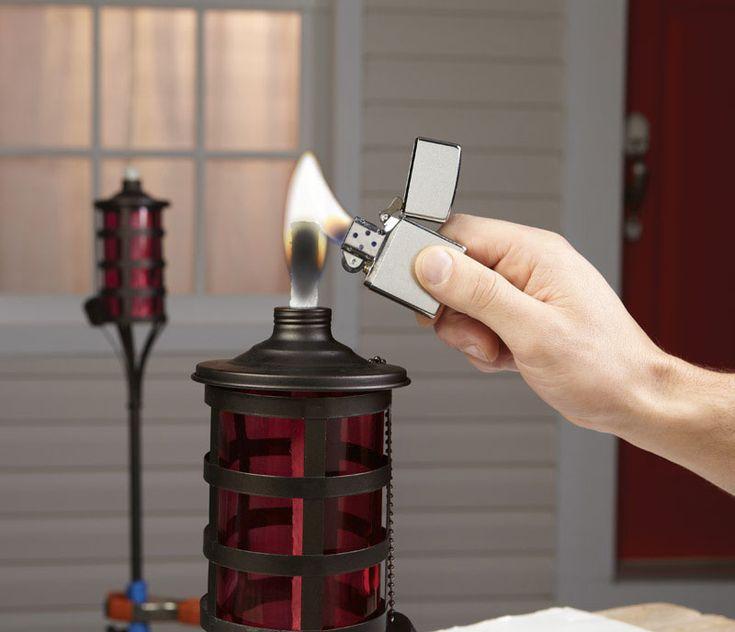 Cig Lighters-Fuel-Receptc : Zippo Cigarette Lighter Windproof Chrome