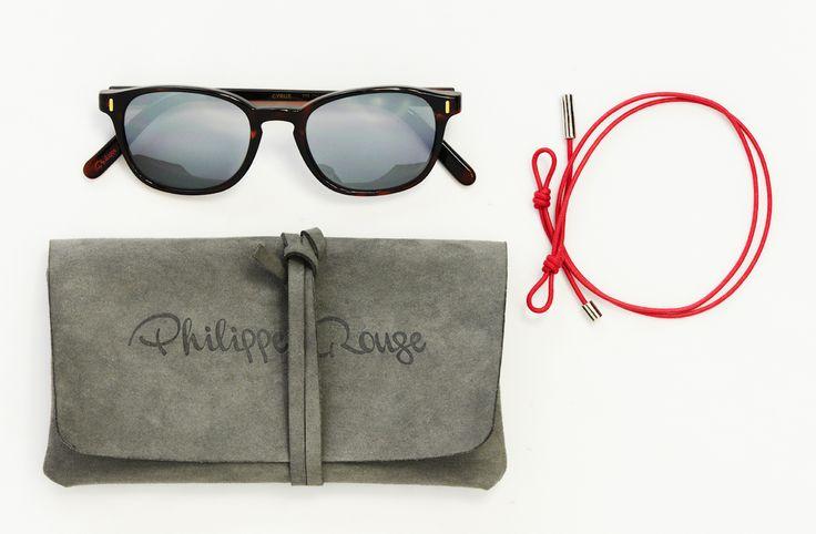 #Cyrus, montatura Pantos  reinterpretati da Philippe Rouge con gusto volutamente unisex. Con asta animata.   #eyewear #PhilippeRouge