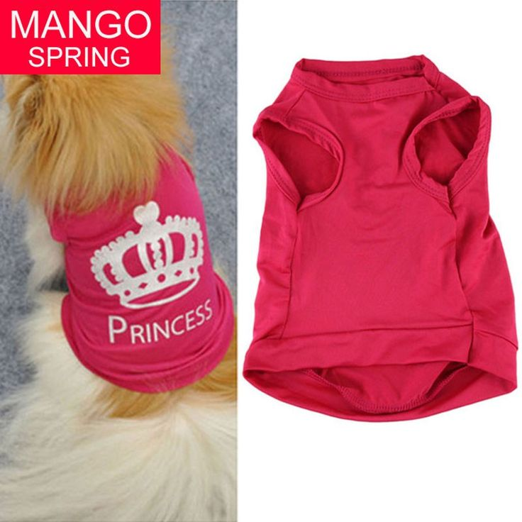 Classic POP Pet Dog Cat Cute Princess T-shirt Clothes Vest Summer Coat Puppy Costumes Clothing products //Price: $2.95 & FREE Shipping //     #hashtag3