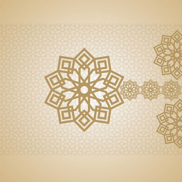 Eid mubarak card arabic design islam islamic arabesque for Arabesque style decoration
