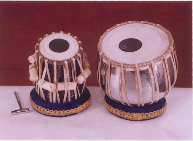 The Indian Instrument - Tabla. Tabla is a membranophone percussion instrument (similar to bongos), used in Hindustani classical music and in popular and devotional music of the Indian subcontinent.