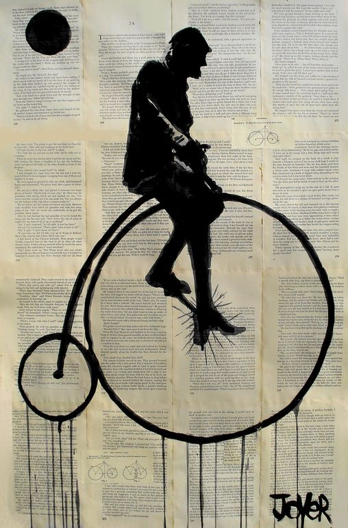 Cycle by Loui Jover (b1967, Europe; migrated to Australia with family at a young age; based In Brisbane, Queensland)