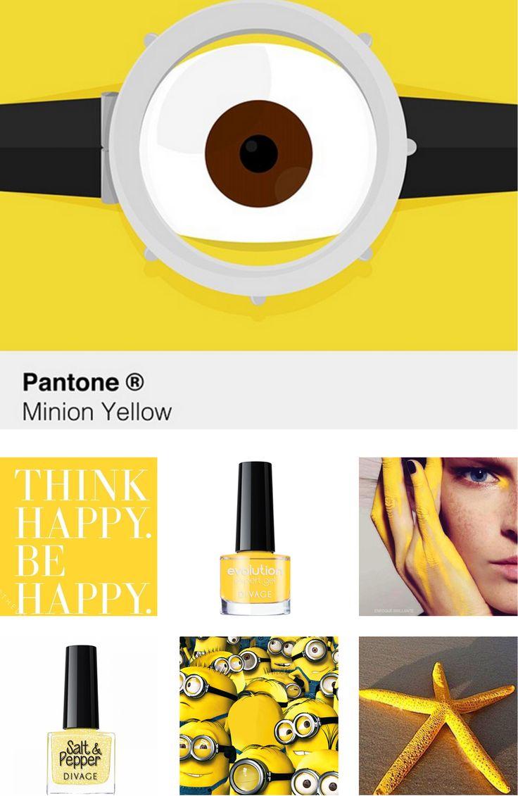 #coloroftheweek #Minion Yellow è il nuovo pantone dell'estate 2015. Colore della speranza, della gioia e dell'ottimismo si ispira proprio ai Minion, le adorabili creature di Cattivissimo me.