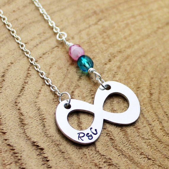 Infinity Necklace. Love Infinity Necklace. by RootedInLoveCustom