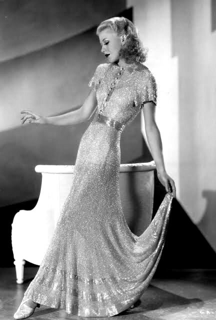 ginger rogers...stunning: Ginger Rogers, Hollywood Glamour, Vintage, Stars, Beautiful, Style Icons, Classic Hollywood, Stunning Dresses, Gingers Rogers