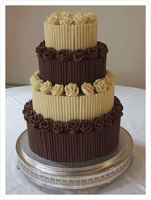 chocolate wedding cake idea the world s catalog of ideas 12766