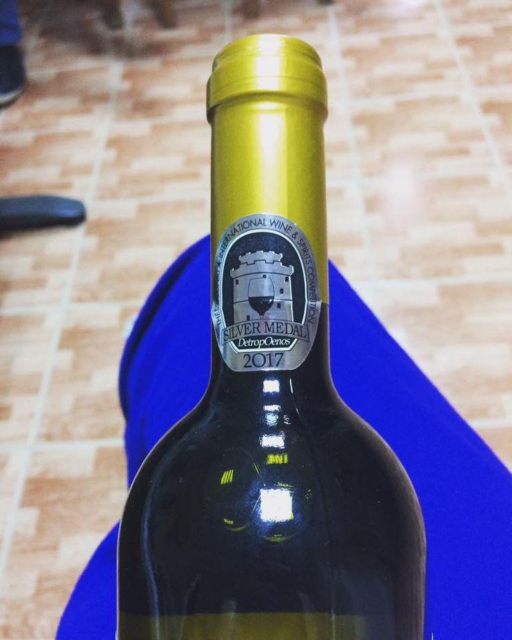 17th Thessaloniki International Wine & Spirits Competition 2017 - Silver Medal - Variety of Malagouzia