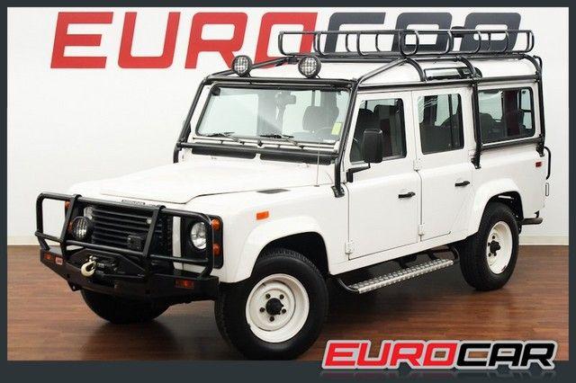1993 Land Rover Defender 110 Costa Mesa California Eurocar Inc