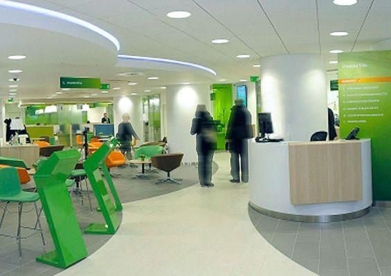 sberbank branch bank interior
